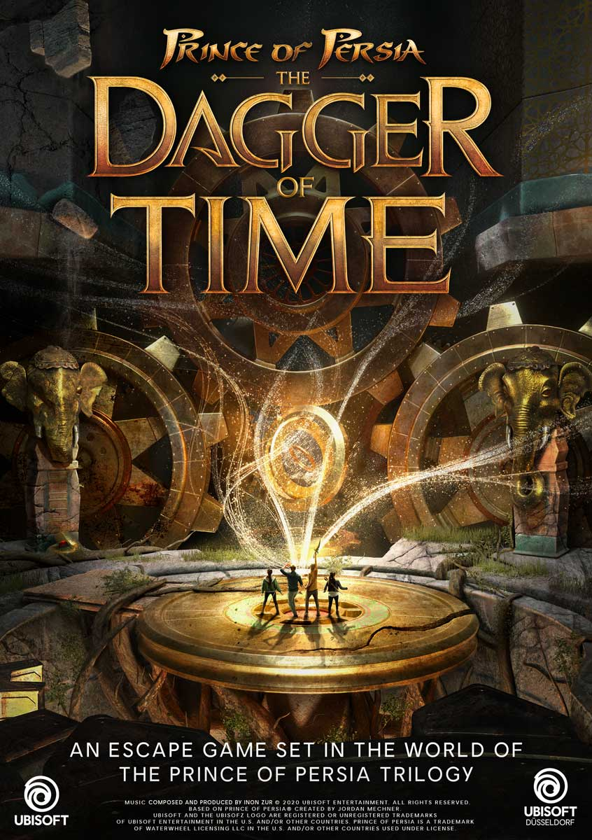 dagger of time escape game vr a chantilly